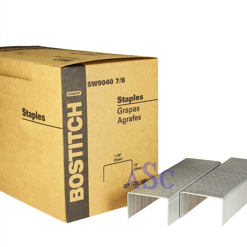 Carton Closure Staples For Stanley Bostich