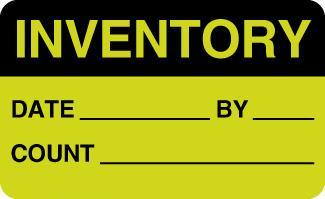 Fluorescent Blank Rectangular Labels